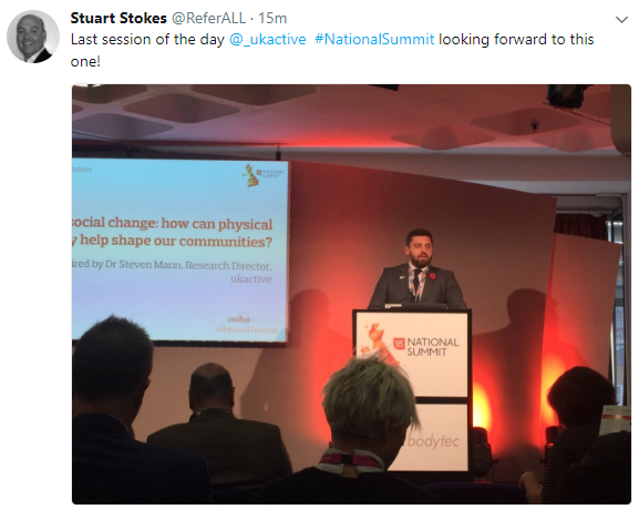 Last session of ukactive Summit
