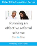 Running an effective referral scheme